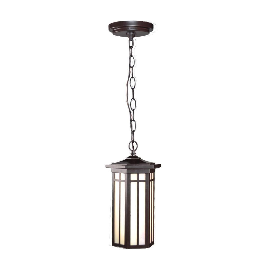 Home Decorators Collection Led Outdoor Hanging Antique Bronze Light Ds5980abz The Home Depot Antique Bronze Lighting Outdoor Pendant Lighting Outdoor Hanging Lights
