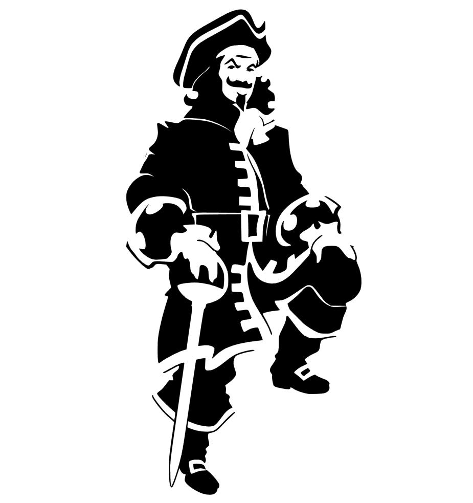 "Captain Morgan Spiced Rum Company Decal Sticker   18/"""