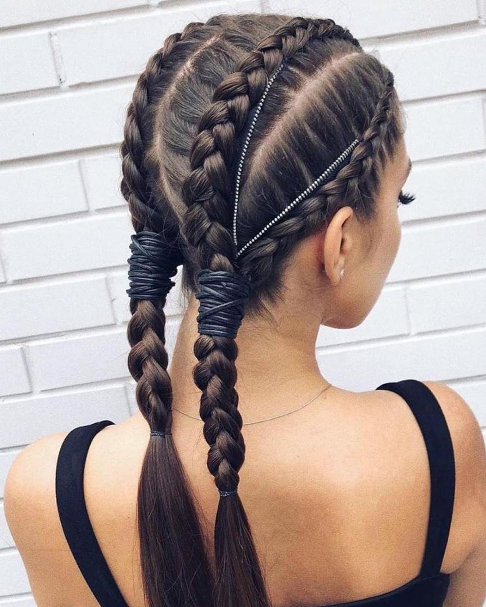 Hair Video Hair2pearl Instagram Photos And Videos Braids For Long Hair Braided Ponytail Hairstyles Hair Styles