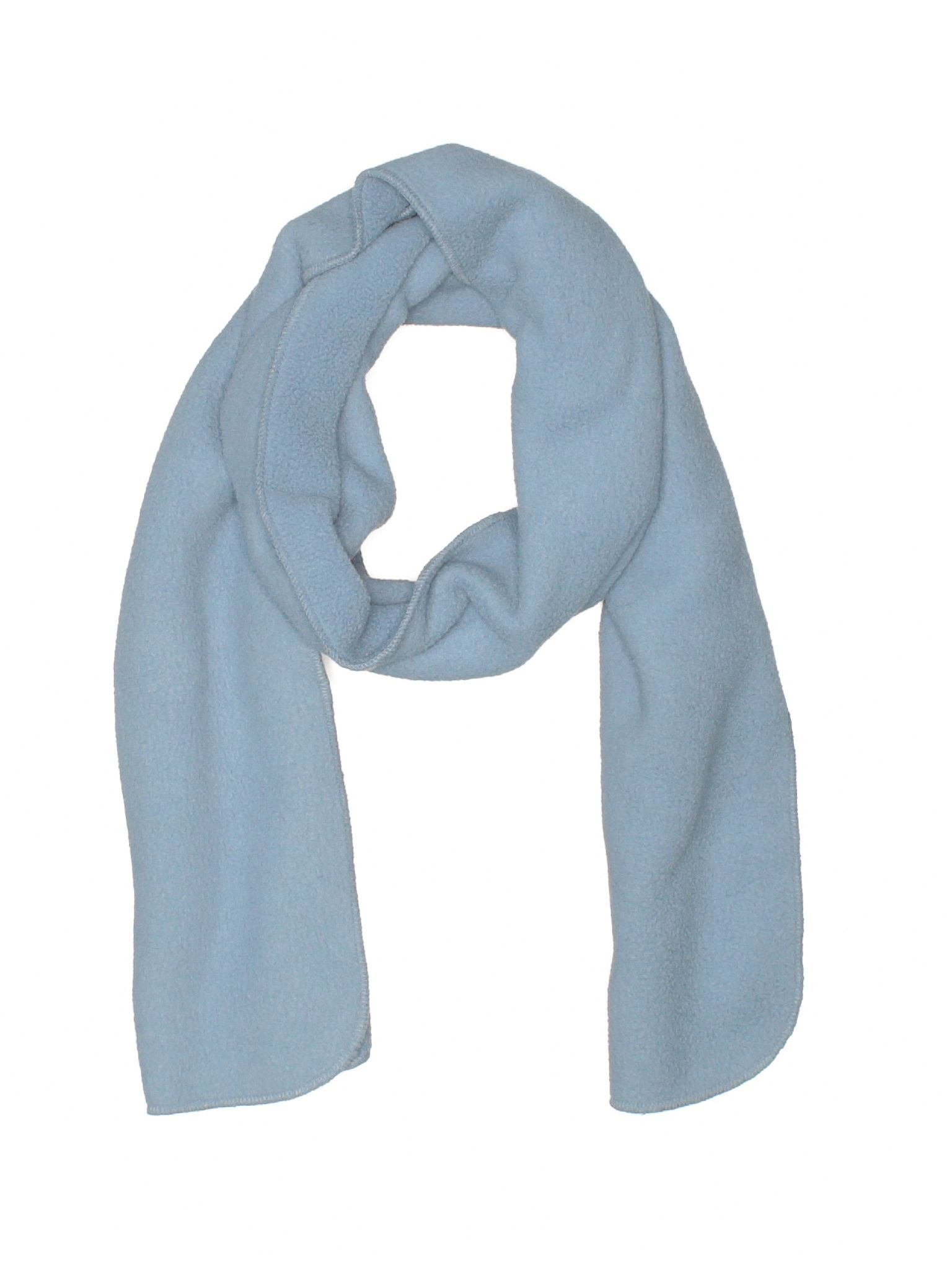 Lands End Scarf Size 000 Blue Womens Accessories  $1499
