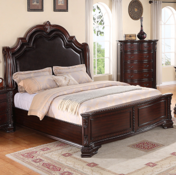 Sheffield King Panel Bed Crown Mark Furniture Home Gallery - Bedroom furniture shops in sheffield
