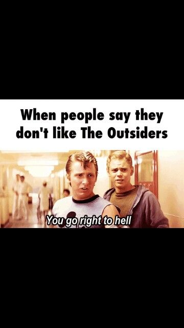 You tell 'em Two-Bit so TRUEEE though | The outsiders in 2019 | The