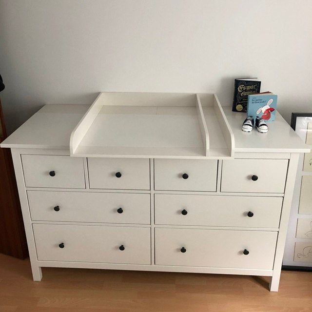 Puckdaddy Bois Naturel Plan A Langer Pour Tous Les Commodes Etsy Ikea Hemnes Changing Table Ikea Changing Table Baby Room Storage
