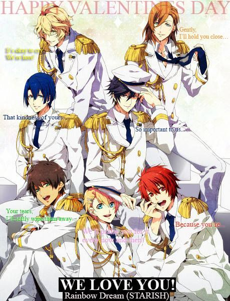 Happy Valentines Day Uta No Prince Sama Anime Utas