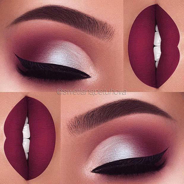 21 Make-up-Ideen für das Thanksgiving-Dinner - Samantha Fashion Life #makeupideas