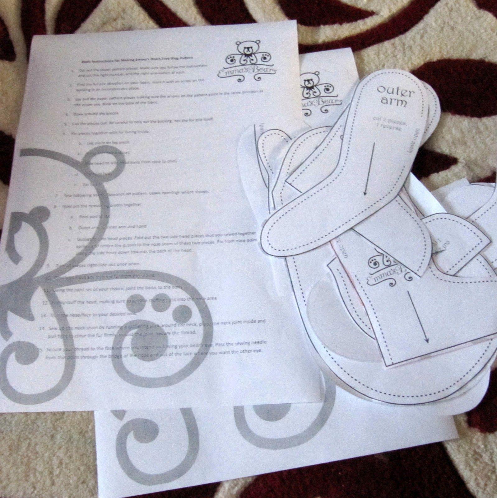The inner world of emmas bears free bear pattern free tutorial the inner world of emmas bears free bear pattern free tutorial jeuxipadfo Images