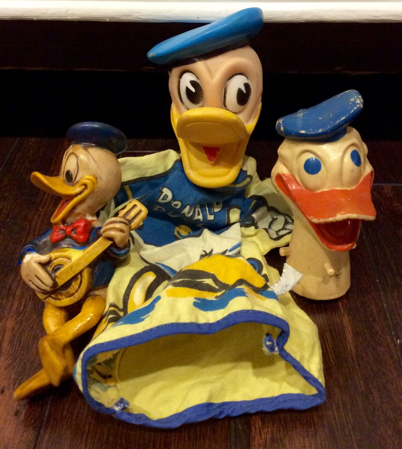 Vintage donald duck toy
