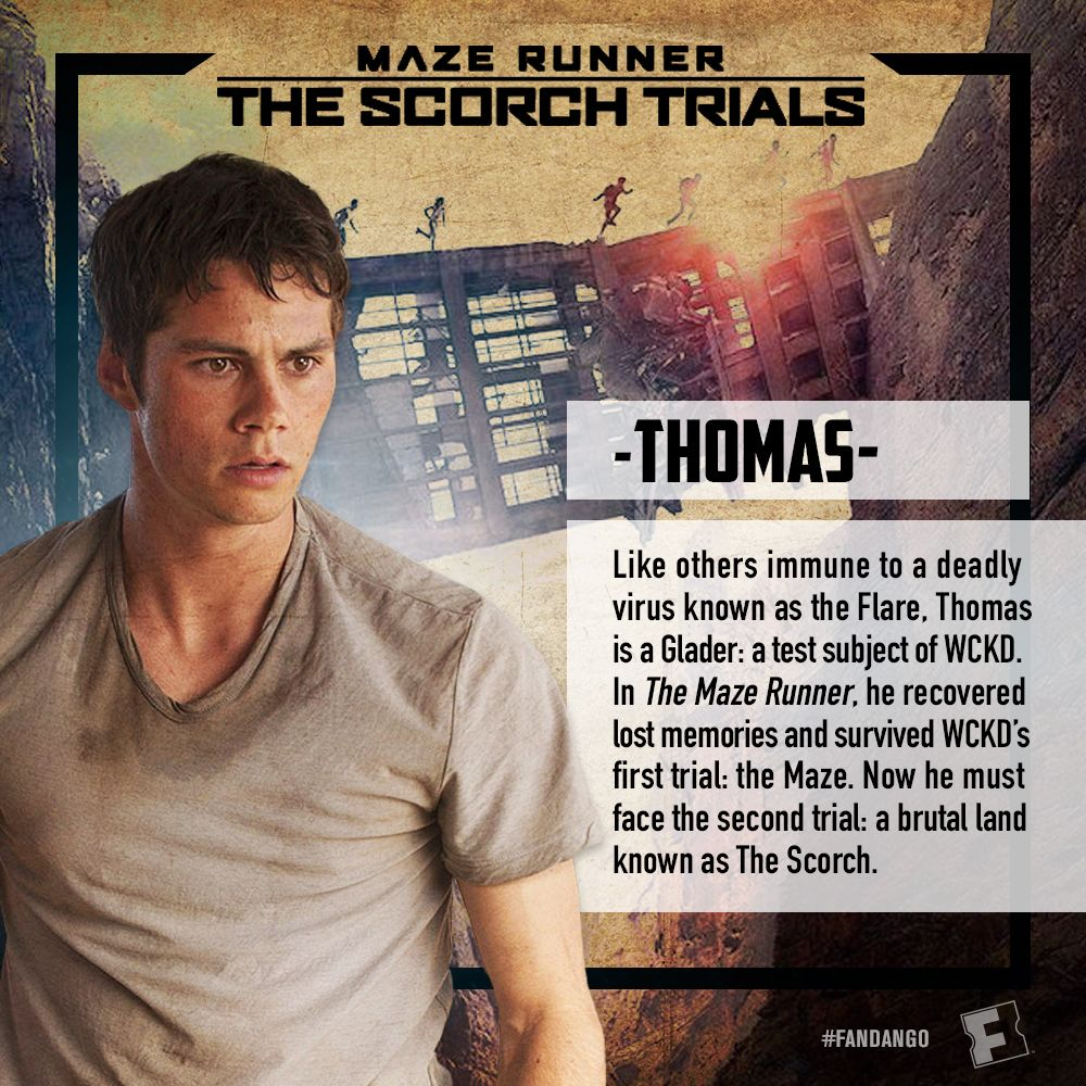 maze runner the scorch trials character cards the