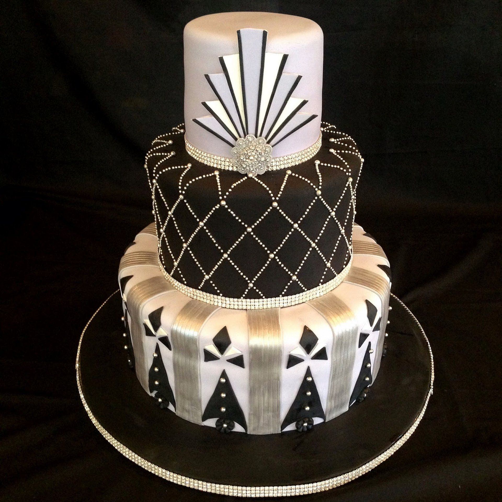 Roaring 20s Cakes Photo Gallery Of The Art Deco Weddings Cakes