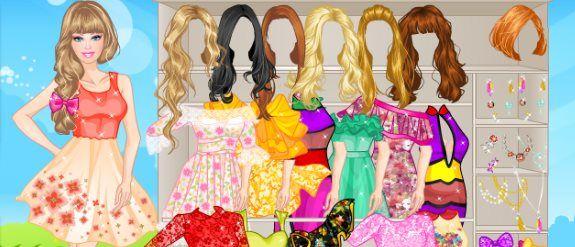 Juego De Vestir Maquillar Y Peinar A Barbie Para Su Boda Barbie Para Vestir Juegos De Barbie Barbie