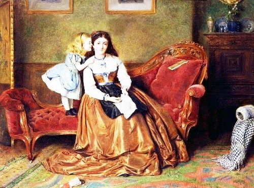George Goodwin Kilburne (1839 - 1924) Англия