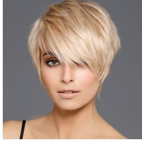 Frisuren 2019 frauen blond kurz