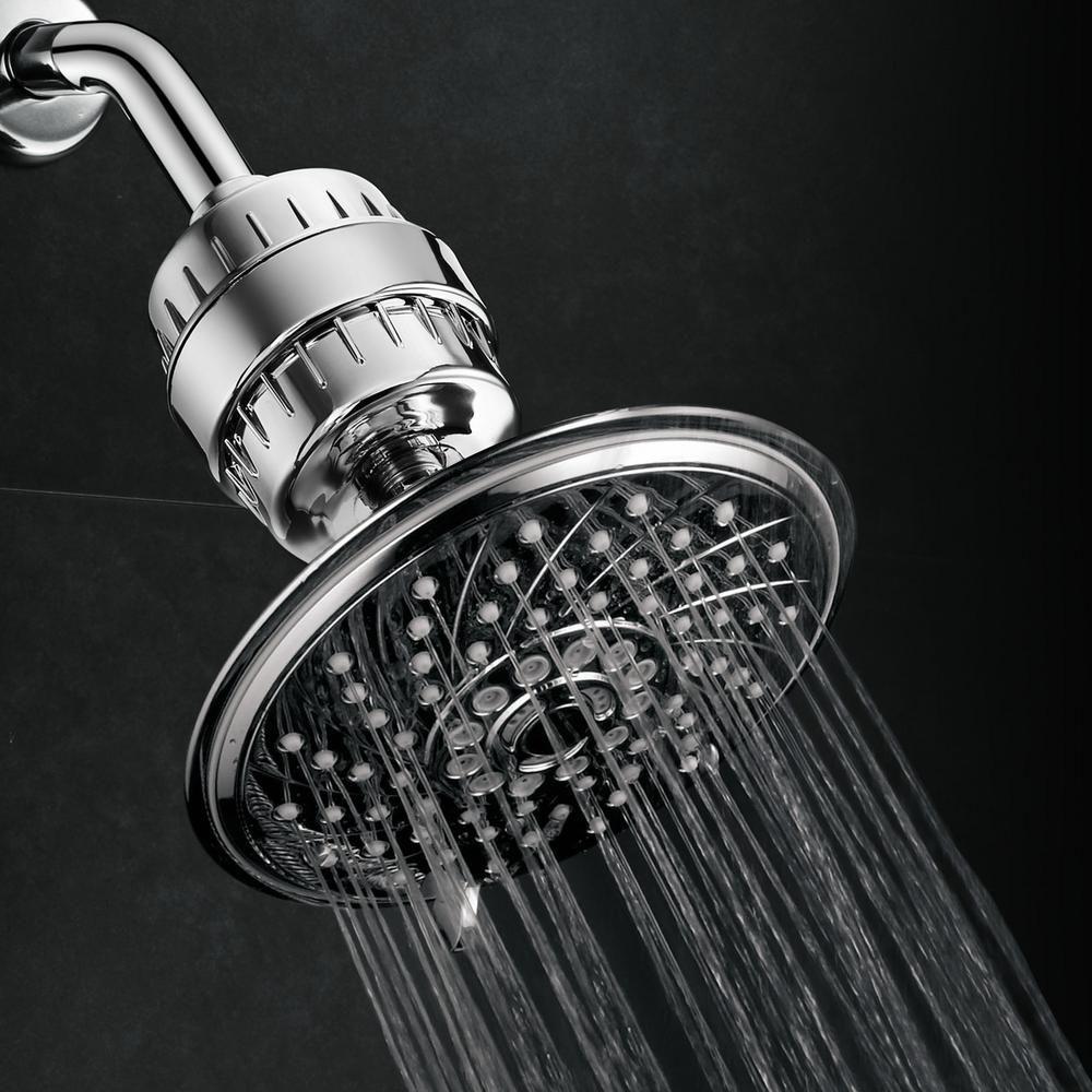 Hotel Spa 6 Spray 6 In Single Wall Mount Fixed Rain Shower Head