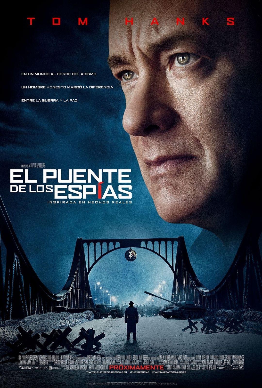 El Puente De Los Espías Diciembre15 Spielberg Tom Hanks Movies 2015 Movies