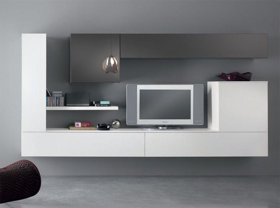 Modern Wall Unit Exential Y25 By Spar 4 629 00 Arredamento Moderno Soggiorno Mobili Soggiorno