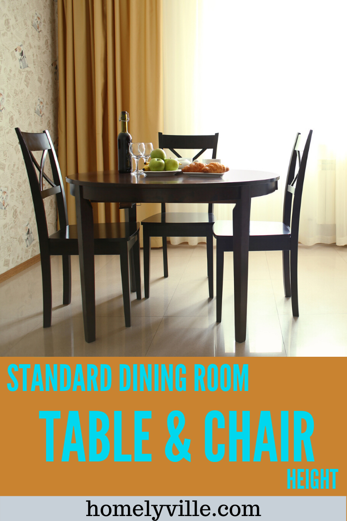 Nothing is standard anymore, and we get to choose when it comes to everything. But does that pertain to dining room table and chair height? #diningroom #diningroomtable #diningroomchairs