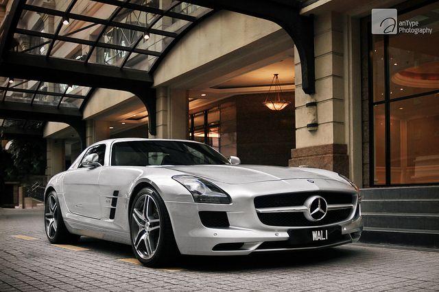 Argentum Mercedes Benz Sls Amg Mercedes Benz Sls High