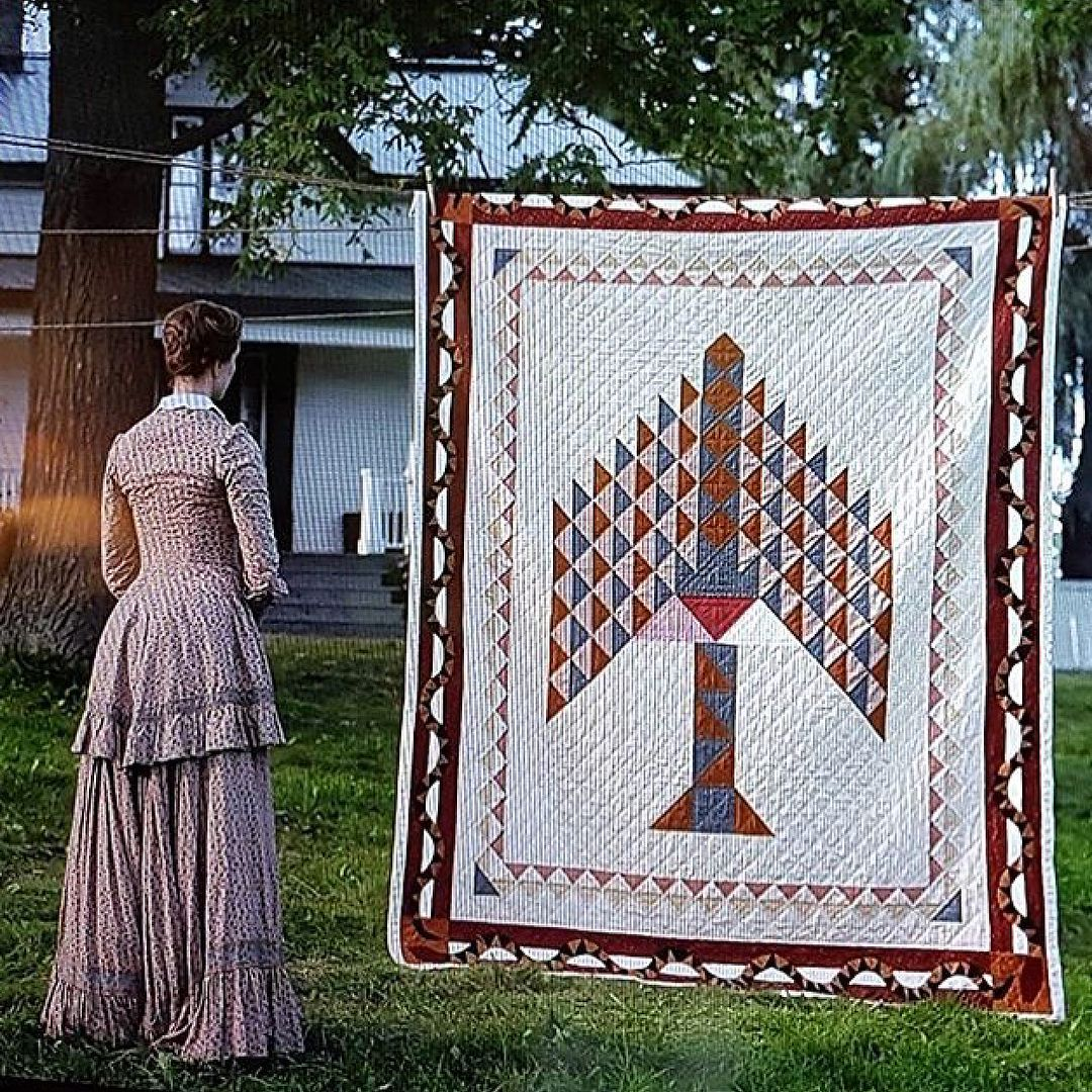 A Scene From The Movie Alias Grace In 2019 Quilts Tree