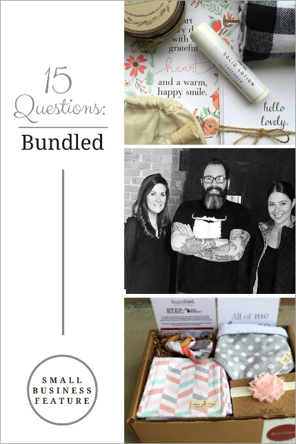 Learn more about us, Bundled as a whole, and our passion for Michigan handmade products in our interview with @howtosimplify