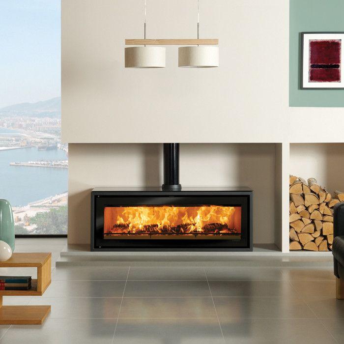 Stovax Riva Studio 3 Freestanding Wood Burning Stove Contemporary Sto Wood Burning Stoves Living Room Contemporary Wood Burning Stoves Freestanding Fireplace