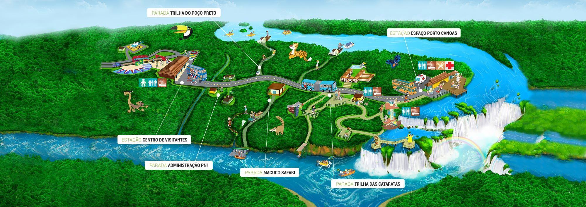 Cataratas do Iguau Cataratas do Iguau SA Mapa Meus Pins