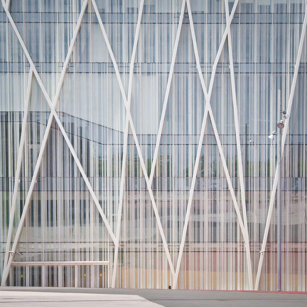 """Primo Facade Stylemaster: La """"Torre Telefonica Diagonal 00"""" Di Barcellona, Costruita"""
