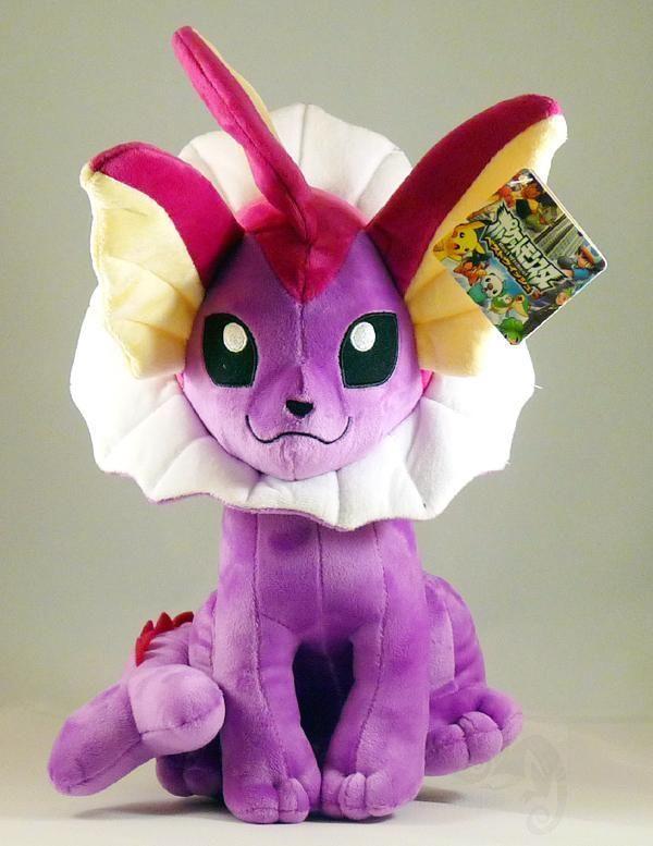 888b3d06 Pokemon SHINY VAPOREON plush doll 12 inches/30 cm UK Stock Shiny Vaporeon  plush
