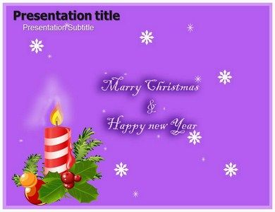 download christmas and new year powerpoint template slideworld