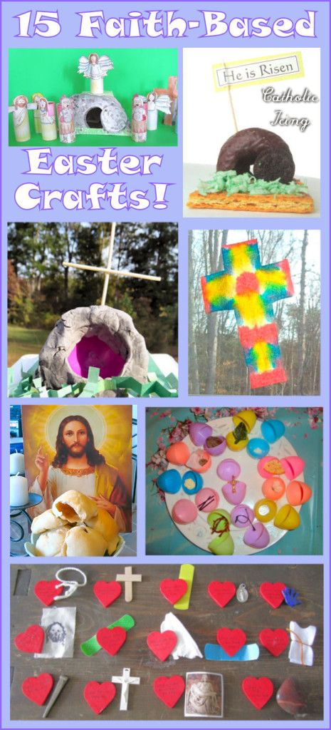 Christian Easter Crafts For Kids- Teaching Them The Easter Story