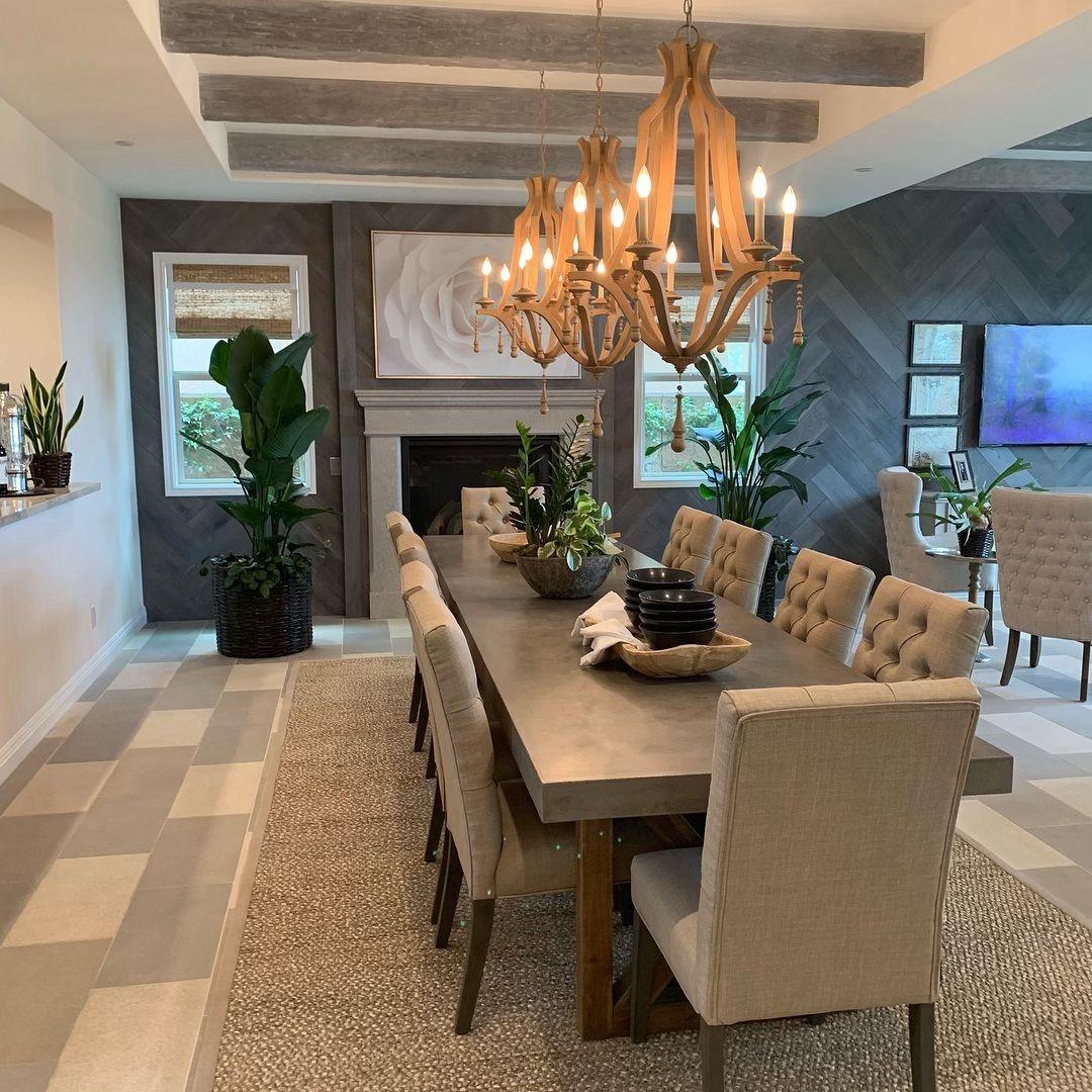 Dining room 🥰 ️ #realtor #luxuryrealestate #orangecounty # ...
