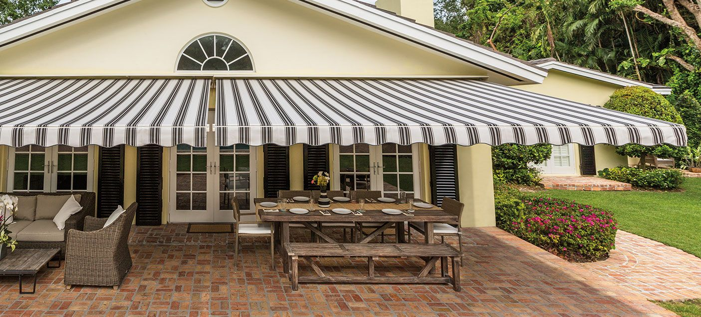 SunSetter Awnings | Patio design, Awning, Back patio