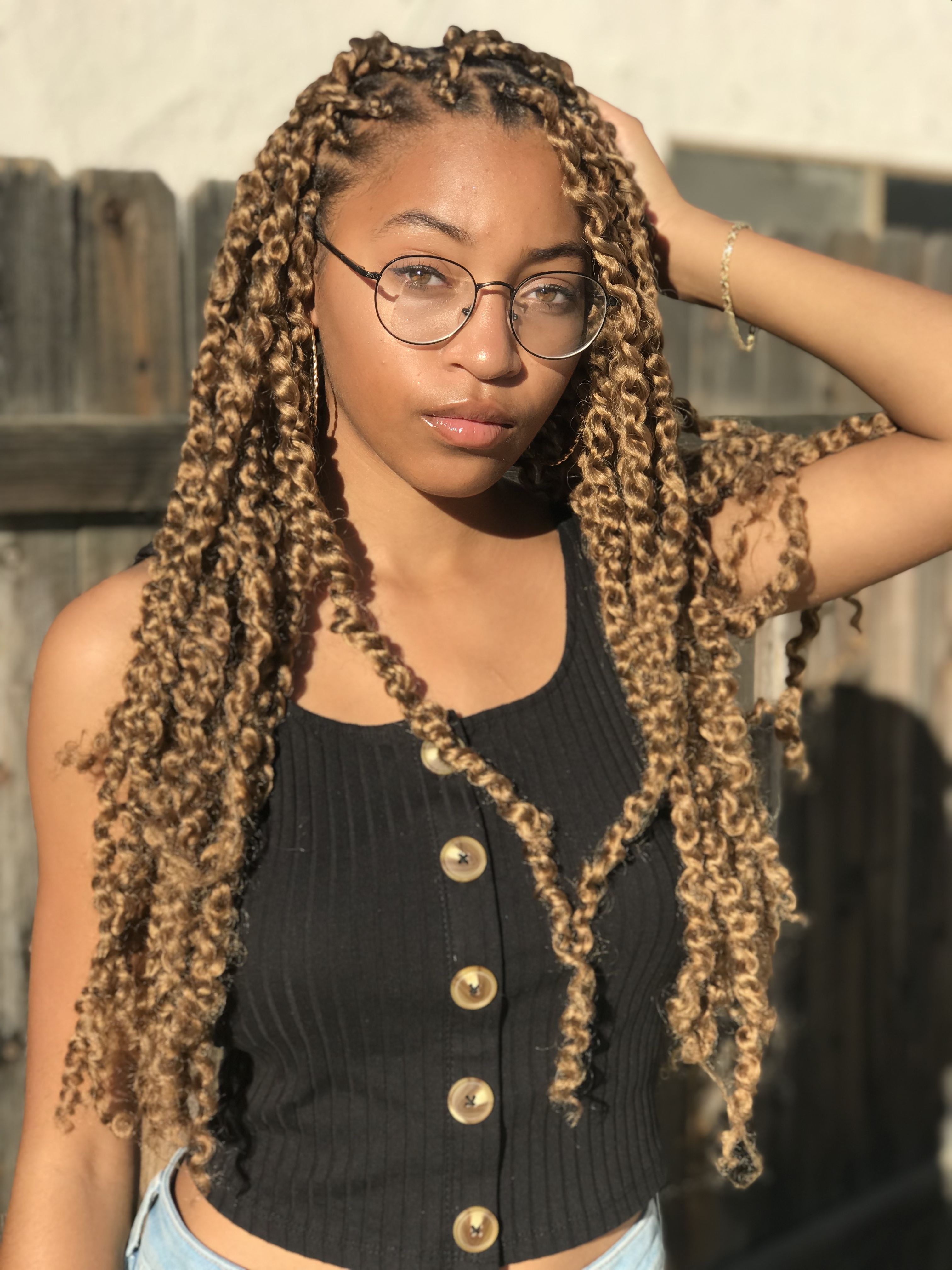Blond Passion Twists Natural Hair Styles For Black Women