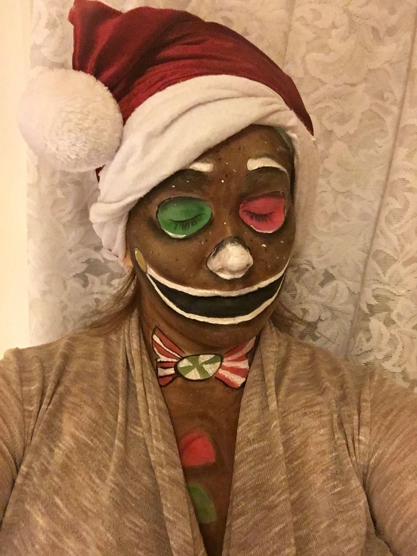 Gingerbread Man Makeup Gingerbread Man Costumes Male Makeup Makeup Designs