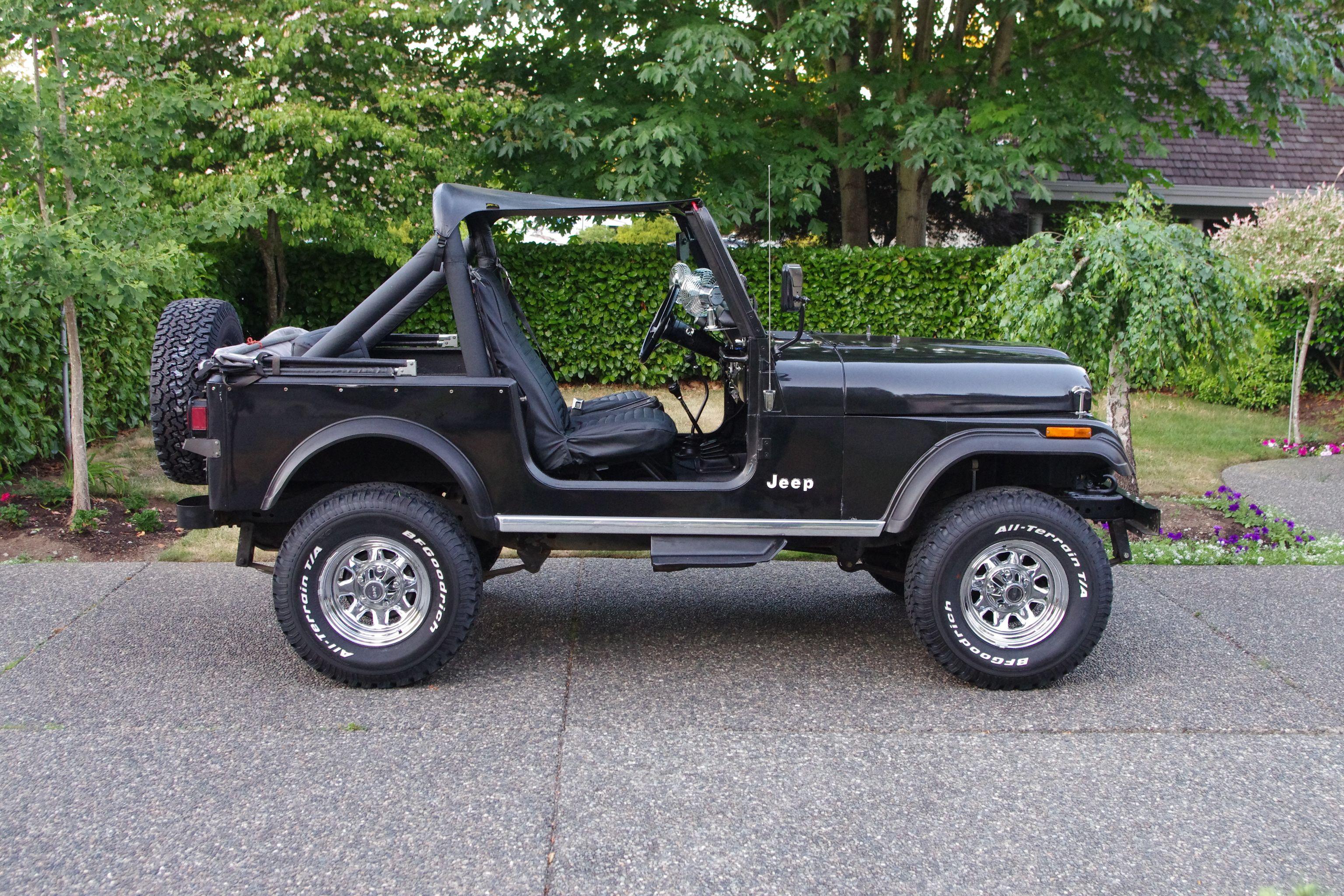 New Tires Old Wheels 3 Jeep Cj7 Jeep Cj5 Jeep Cj
