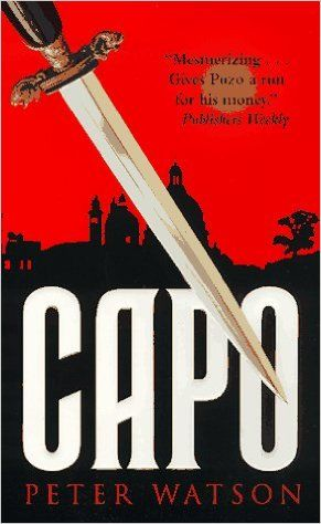Capo by Peter Watson. In today @ Canterbury Tales Bookshop / Book exchange / Guesthouse / Cafe, Pattaya..