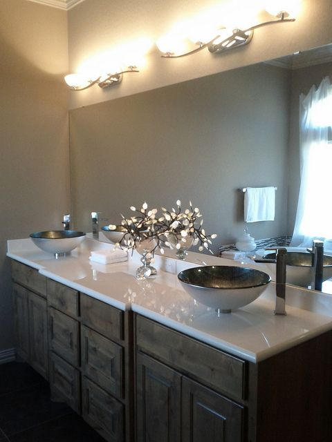 Double Vanity With The Wow Factor By Faynewhomes Via Flickr