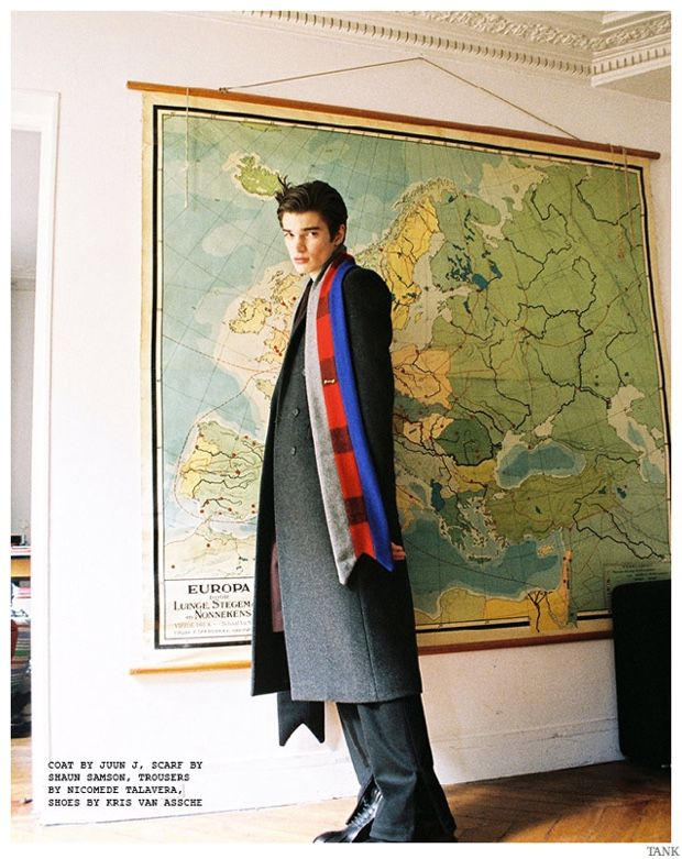 Alexander Ferrario Charms in Oversize Mens Fashions for Tank Shoot