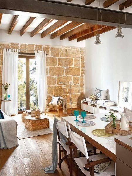 ESTILO RUSTICO: Piso Rustico Tipo Loft | Ideas para el hogar ...