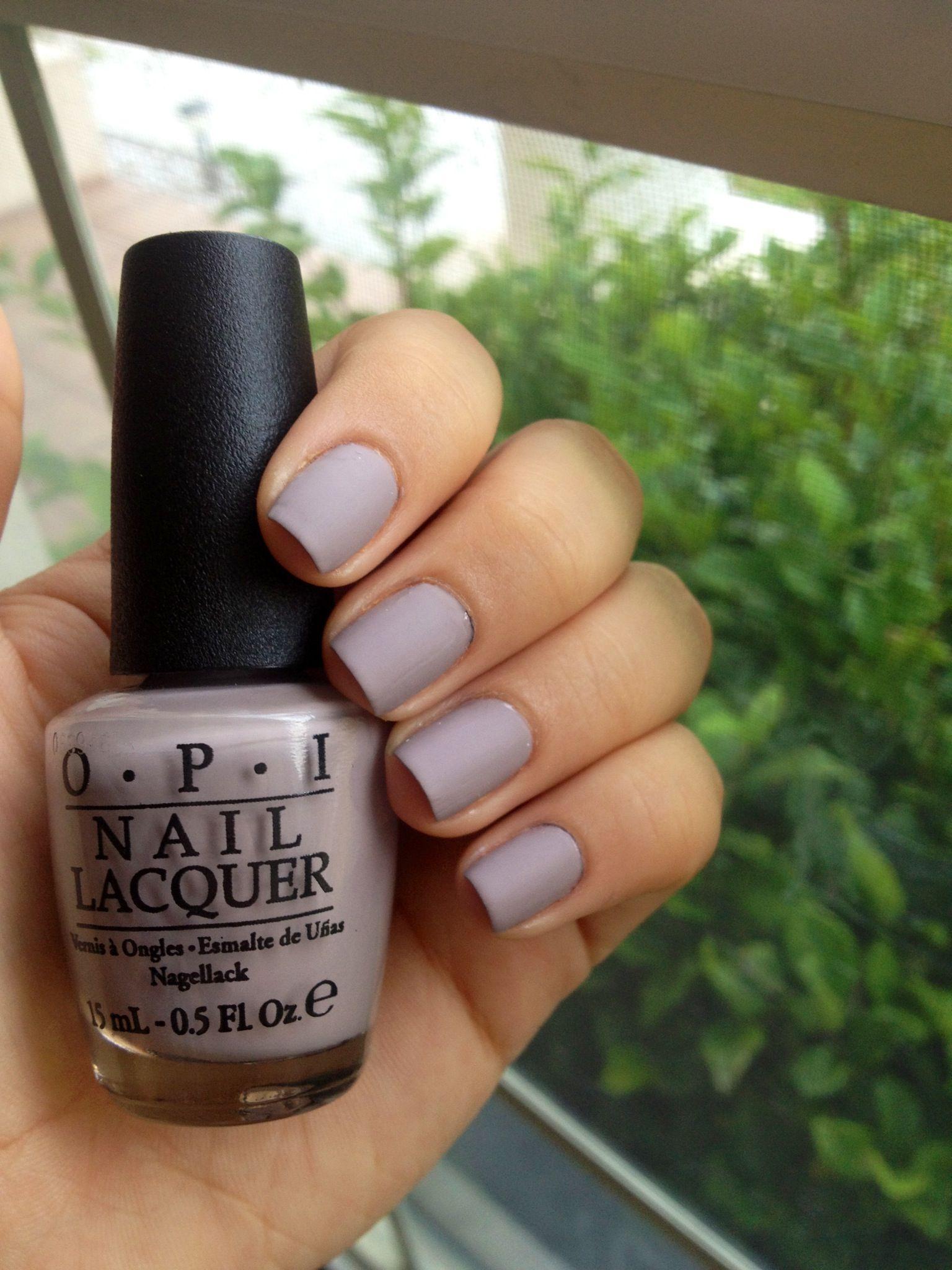 OPI: Taupe-less beach MATTE | Nails | Pinterest | Manicuras, Recetas ...