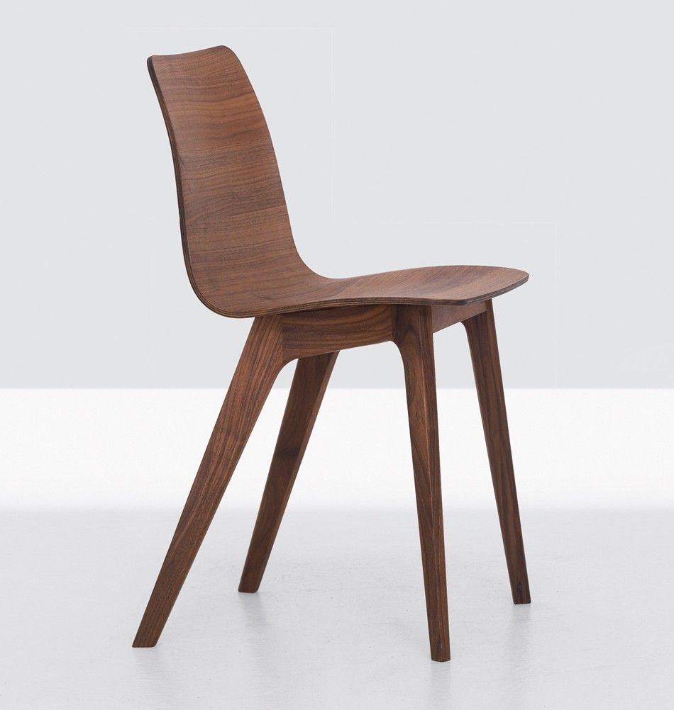Zeitraum Massivholzstuhl Morph Nuss Wood Restaurant Chairs