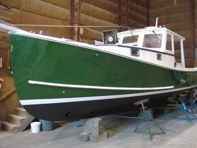 2007 Holland 32 Lobster Yacht Power Boat For Sale - www