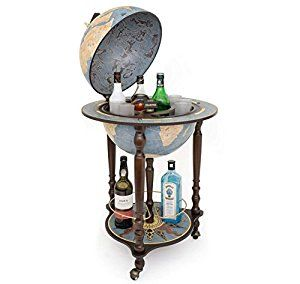 Fabulous 180 Da Vinci Blue Dust Made In Italy Bar Globe With Home Interior And Landscaping Eliaenasavecom