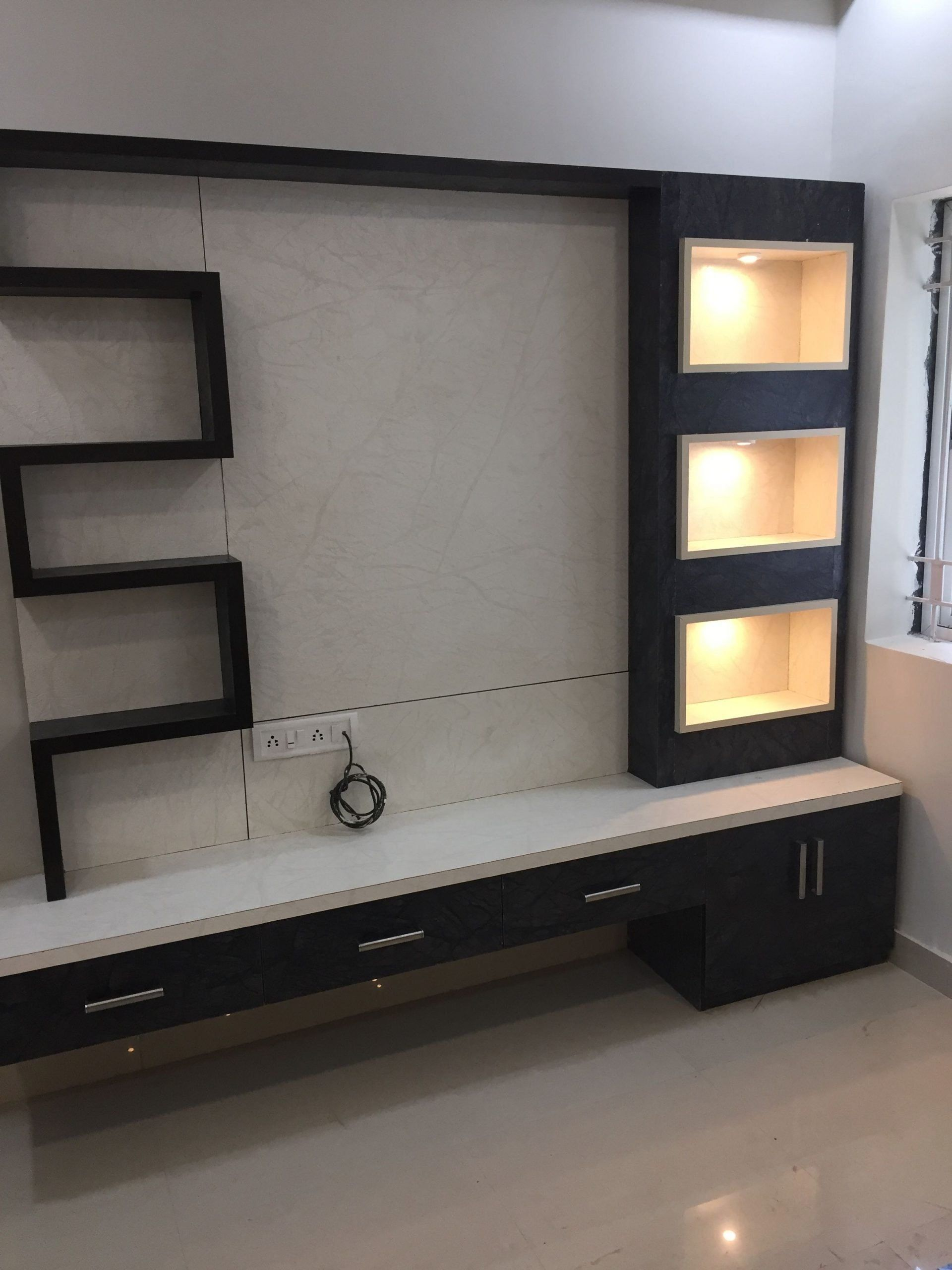 Modern Wall Cabinets for Living Room Led Tv Furniture ...