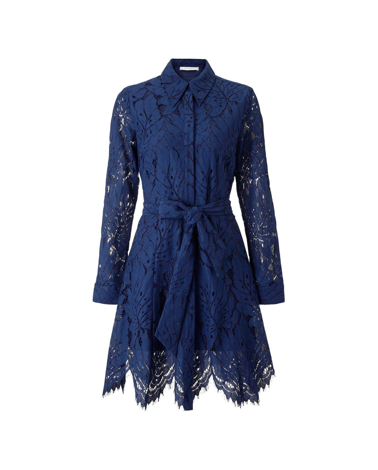 Photo of Mini Lace Shirtdress