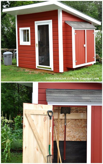 Garden Shed at Cobble Hill Farm shad Pinterest Garden sheds