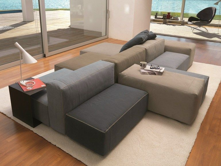 Sof composable con funda extra ble blo us d sir e for Casa sofa sillones