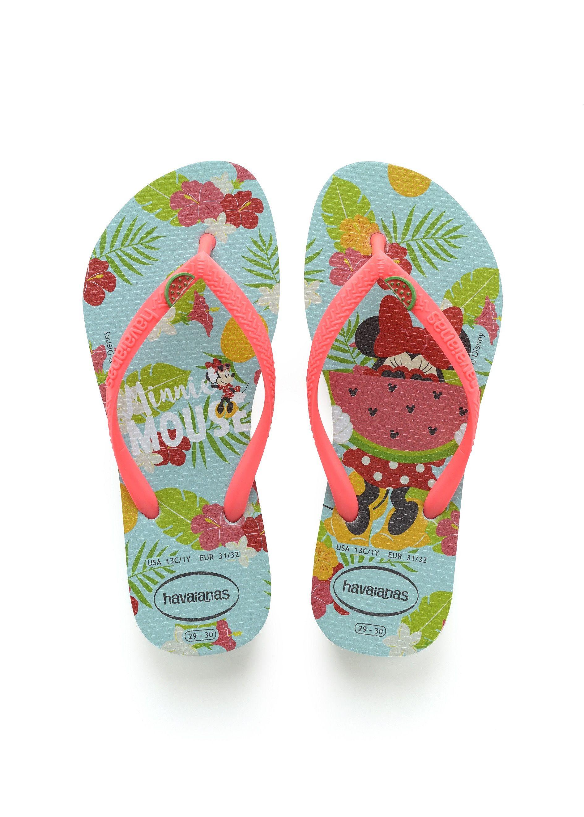Havaianas Kids Slim Fashion Flip Flop Sandal