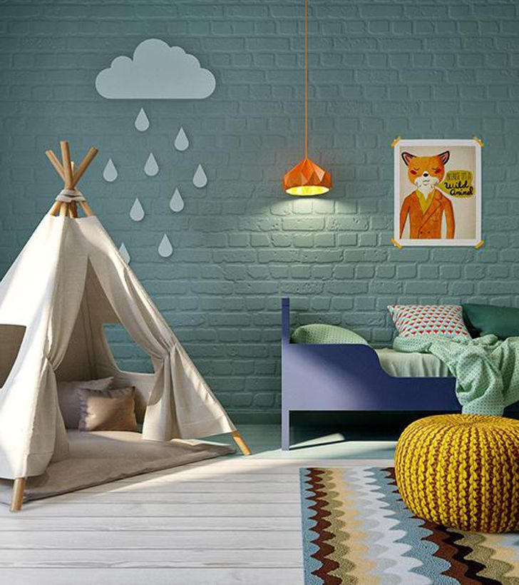 modern, colourful kids room | kids rooms