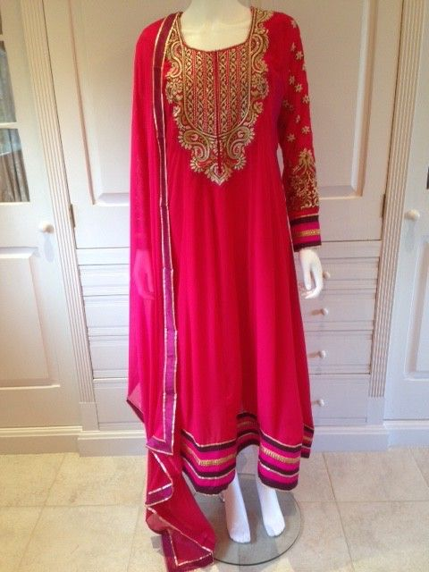 6a1ab002acca4 Cerise nursing #breastfeeding only anarkali from www.bebstyle.com with  concealed zip and