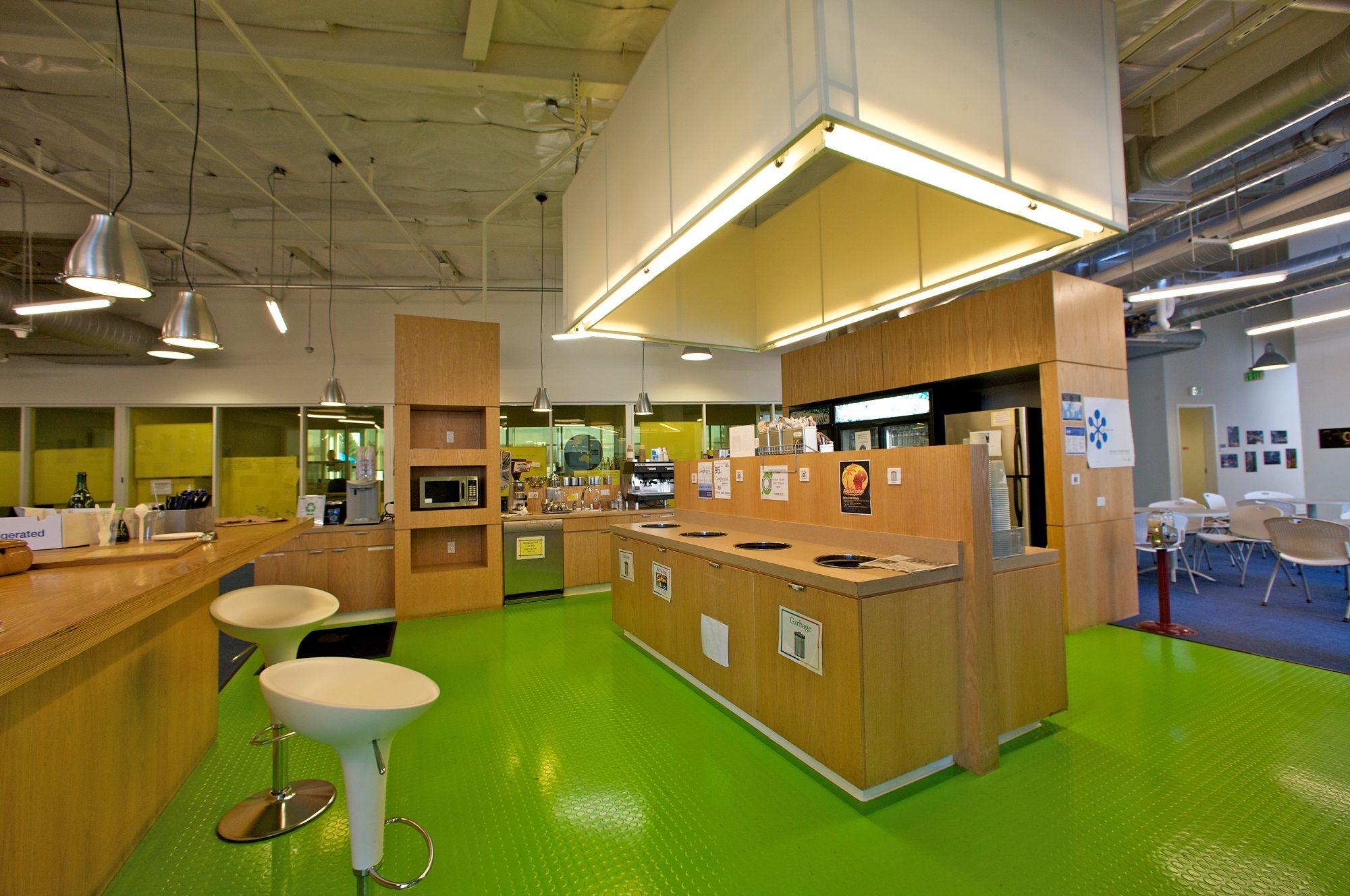 Mini Kitchen In Google S Mountain View Headquarters Which